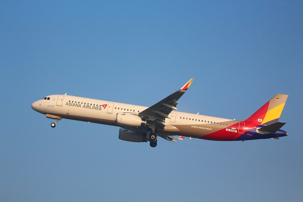 Airbus A321 231WL Asiana Airlines HL8039