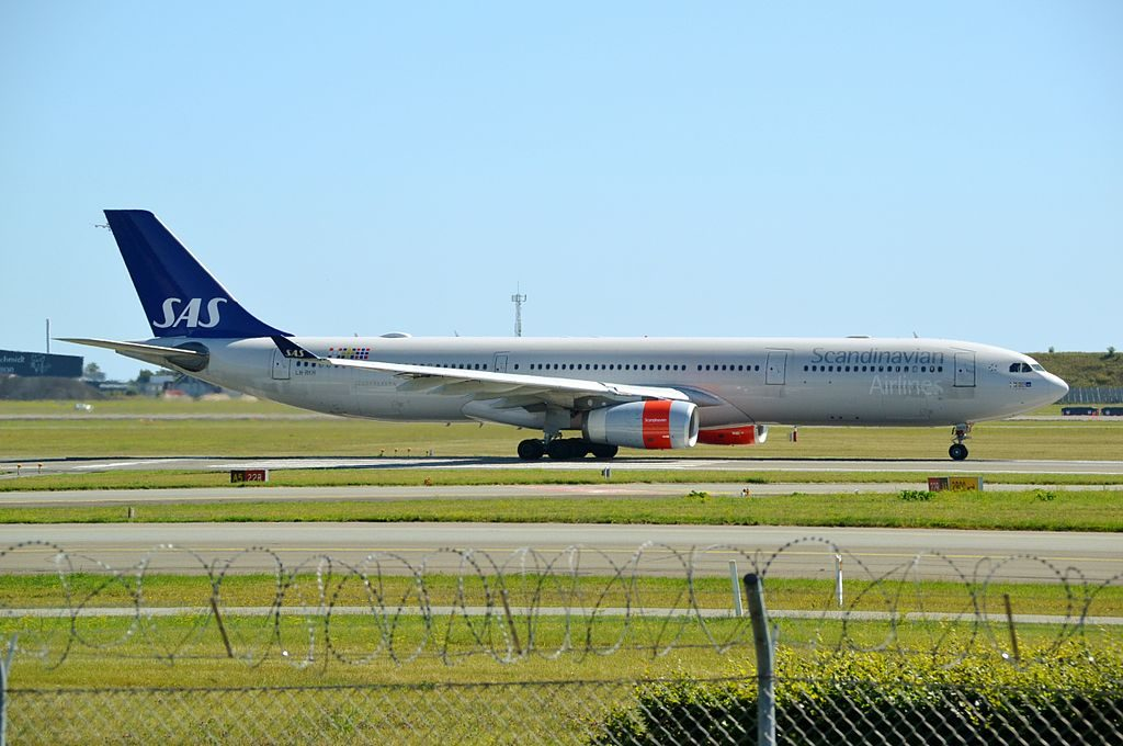 Airbus A330 343 LN RKH Emund Viking SAS Scandinavian Airlines at Copenhagen