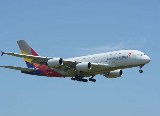 Asiana Airlines Airbus A380 841 HL7625 at NRT Narita Airport