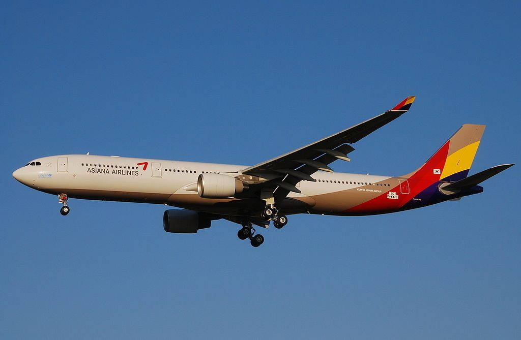 Asiana Airlines HL7792 F WWKL Airbus A330 323 at Toulouse Blagnac International Airport