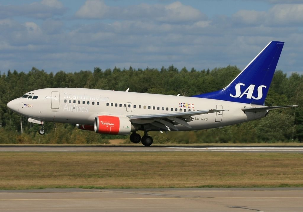 Boeing 737 683 Scandinavian Airlines SAS LN RRO Bernt Viking at Stockholm Arlanda Airport