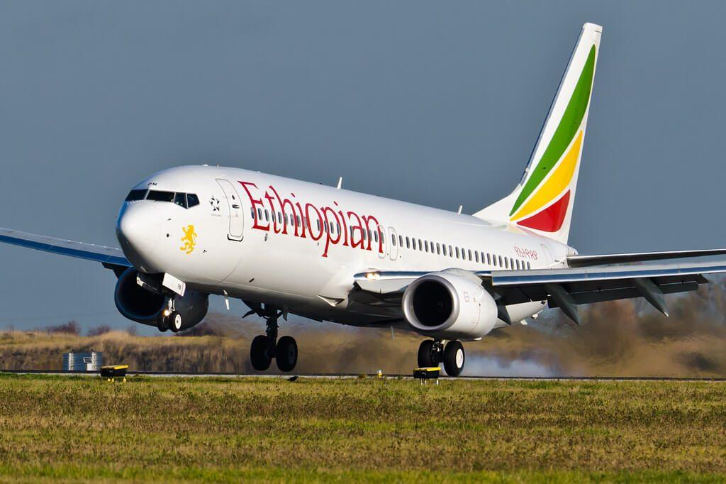Boeing 737 860WL ET APM Ethiopian Airlines at CDG