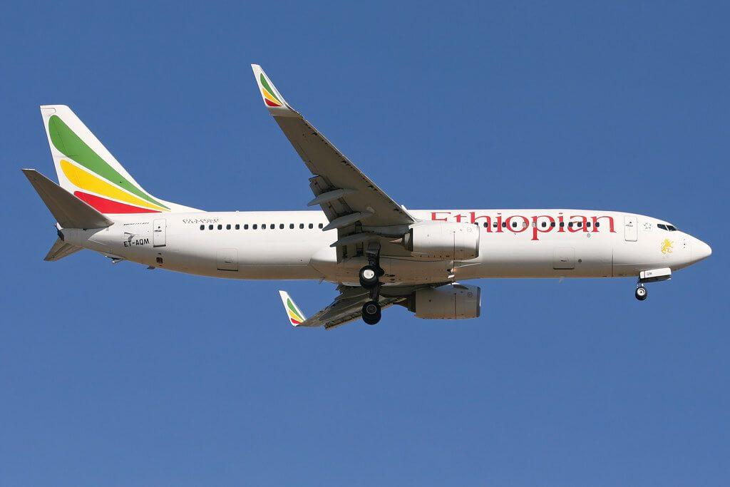Boeing 737 860WL ET AQM Ethiopian Airlines