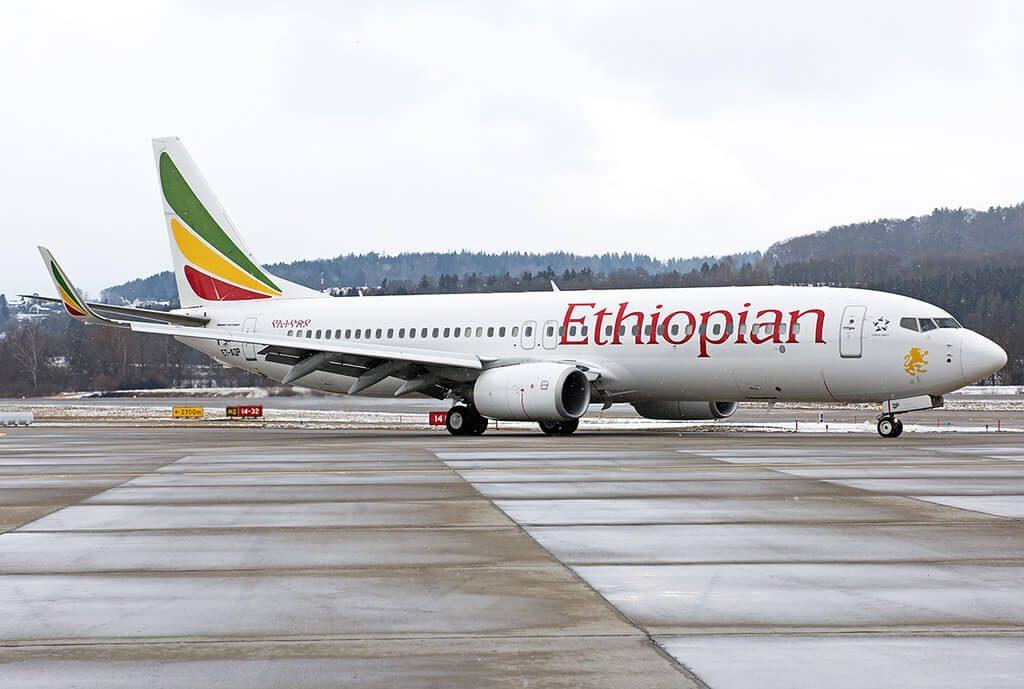 Boeing 737 860WL ET AQP Ethiopian Airlines
