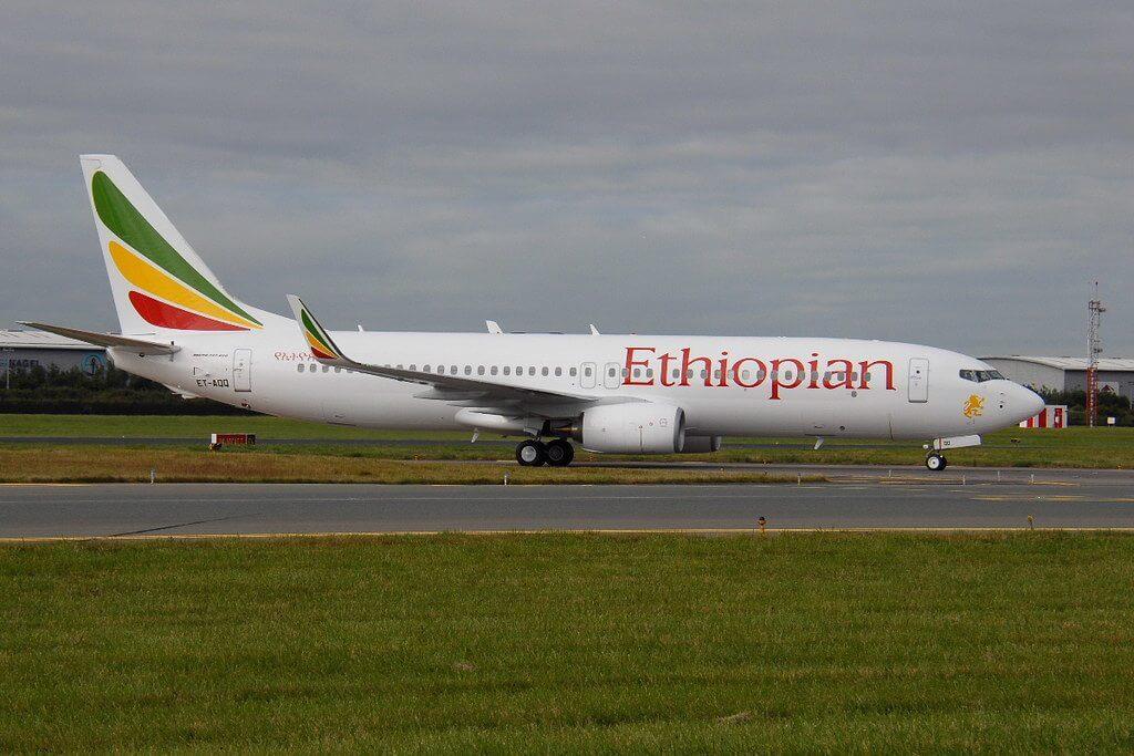 Boeing 737 860WL ET AQQ Ethiopian Airlines
