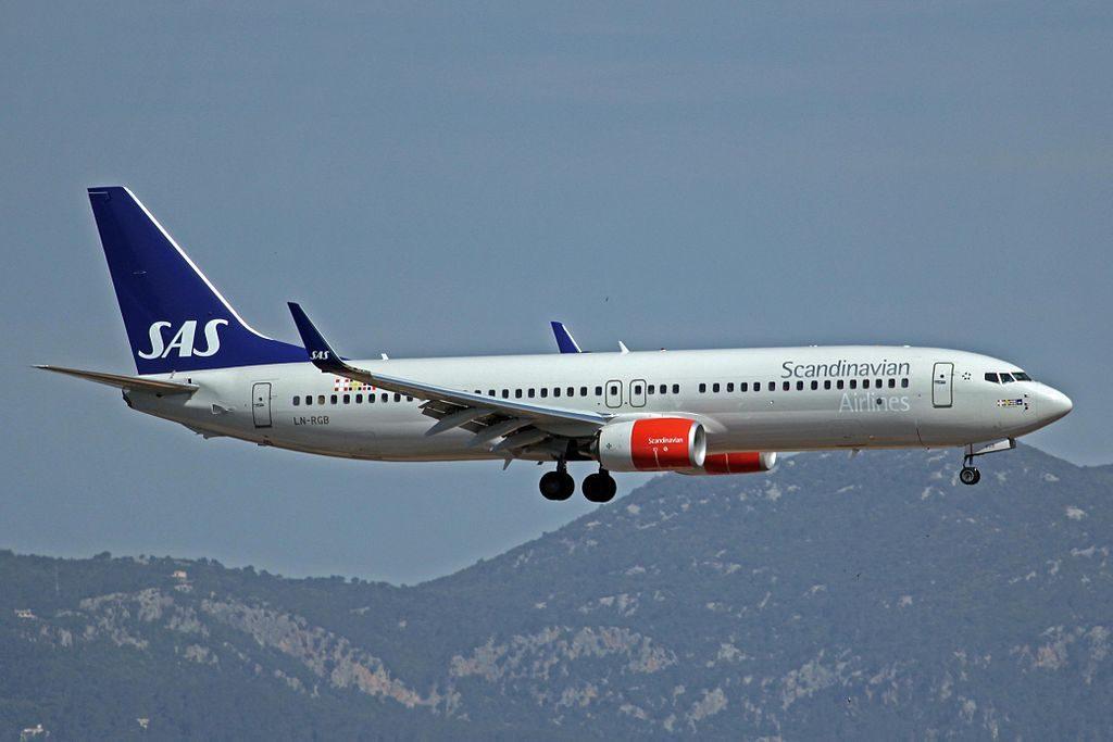 Boeing 737 86NWL LN RGB Benedicte Viking SAS Scandinavian Airlines at Palma de Mallorca Airport