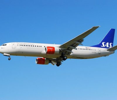 Boeing 737 883 LN RCN Hedrun Viking SAS Scandinavian Airlines at London Heathrow Airport