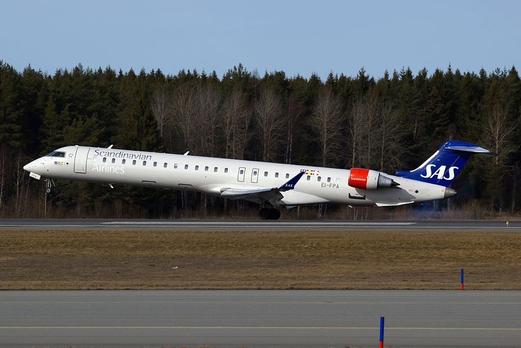 Bombardier CRJ 900ER CL 600 2D24 EI FPA Cityjet Onäm Viking SAS Scandinavian Airlines at Stockholm Arlanda Airport
