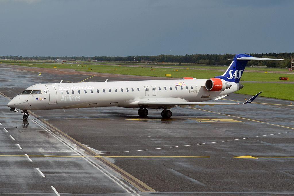 Bombardier CRJ 900ER CL 600 2D24 EI FPE Cityjet Aldis Viking SAS Scandinavian Airlines at Tallinn Airport