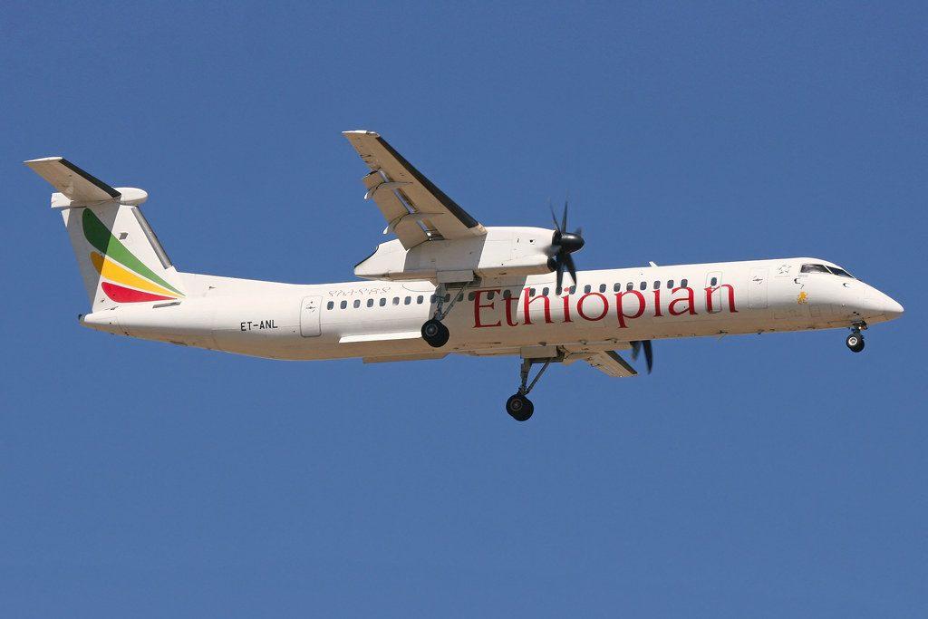 Bombardier Dash 8 Q400 Ethiopian Airlines ET ANL