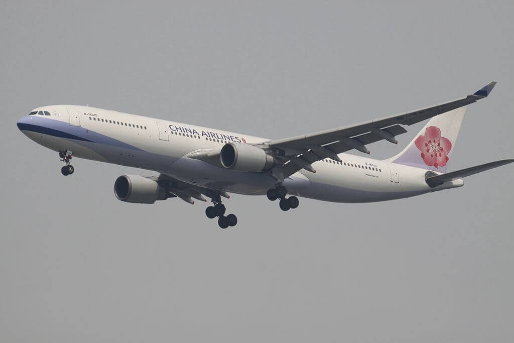 China Airlines Airbus A330 302 B 18310 at Suvarnabhumi International Airport