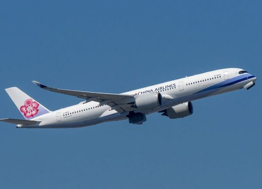 China Airlines Airbus A350 941 B 18906 at Hong Kong International Airport