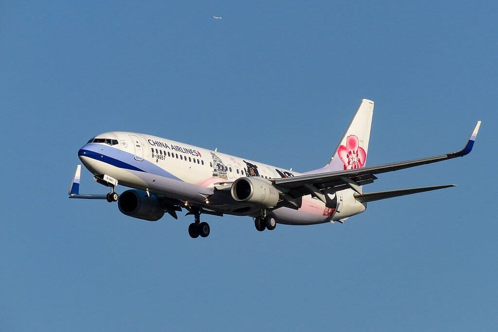 China Airlines Boeing 737 8FHWL B 18657 Buddy Bears 三熊友達 Livery at Beijing Capital International Airport