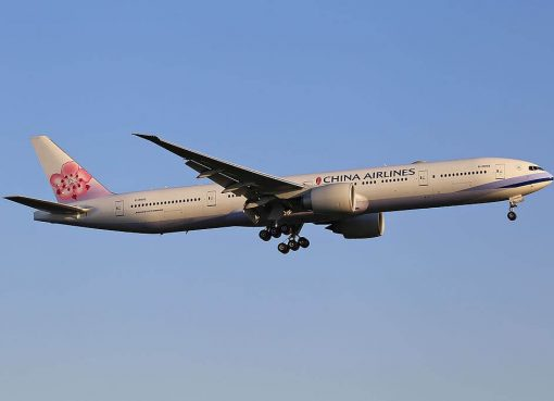 China Airlines Boeing 777 309ER B 18002 at Frankfurt Airport