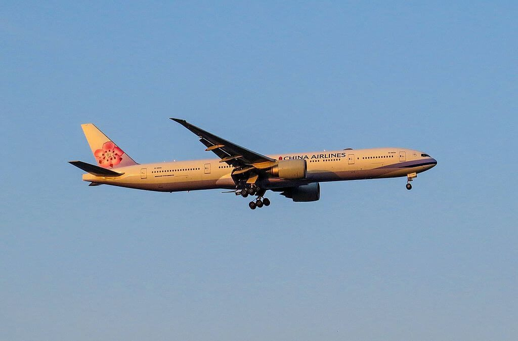 China Airlines Boeing 777 309ER B 18051 at Beijing Capital International Airport