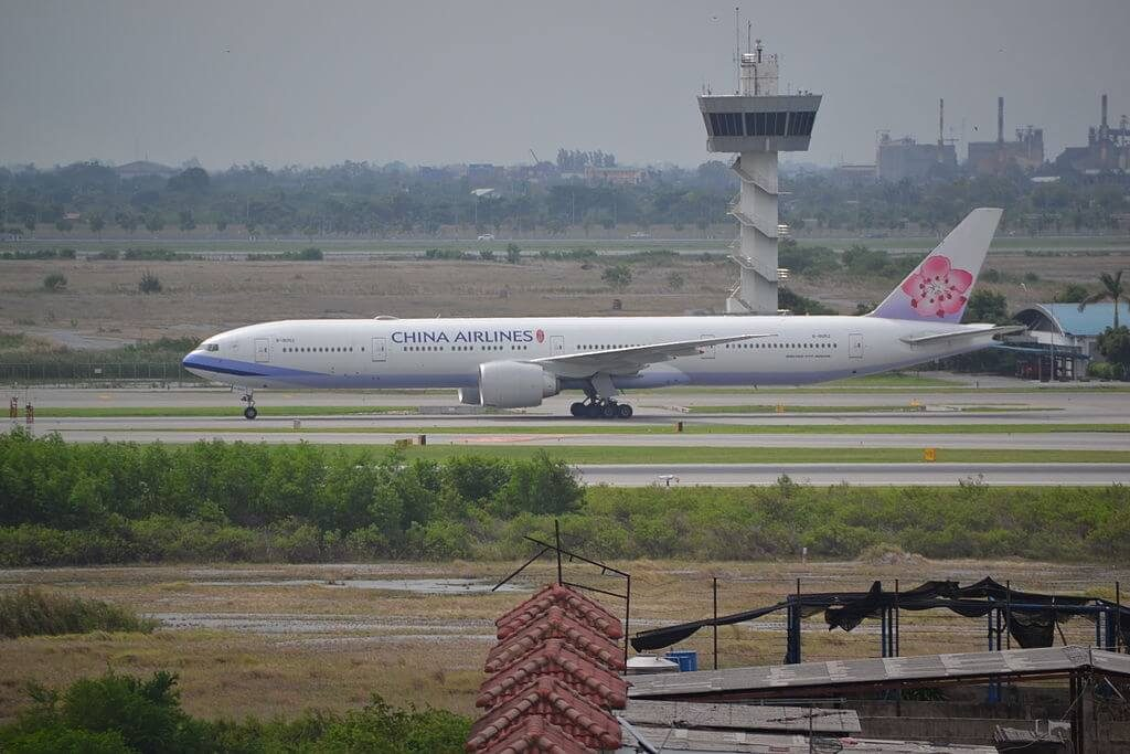 China Airlines Boeing 777 309ER B 18052 at Suvarnabhumi International Airport