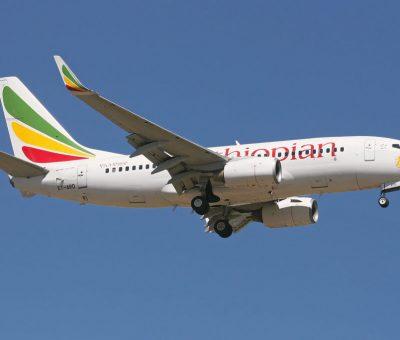 ET ARD Boeing 737 7Q8WL Ethiopian Airlines at Bole Airport