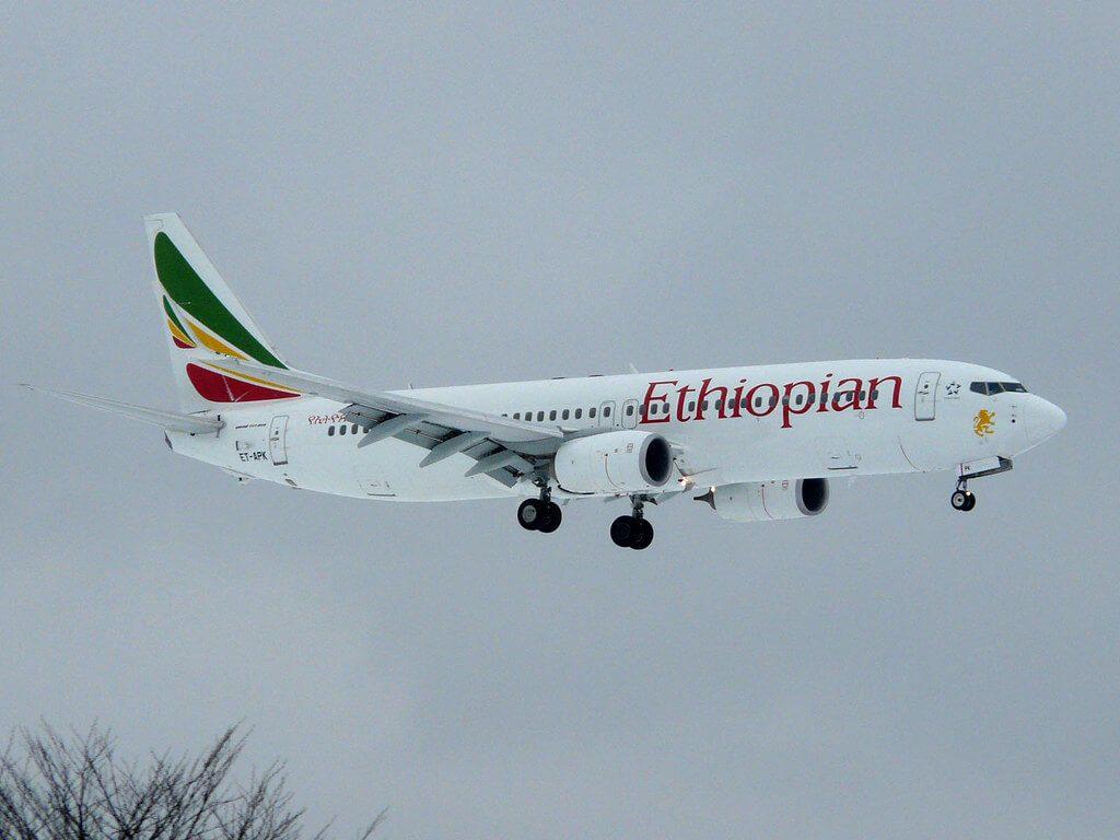 Ethiopian Airlines Boeing 737 860WL ET APK