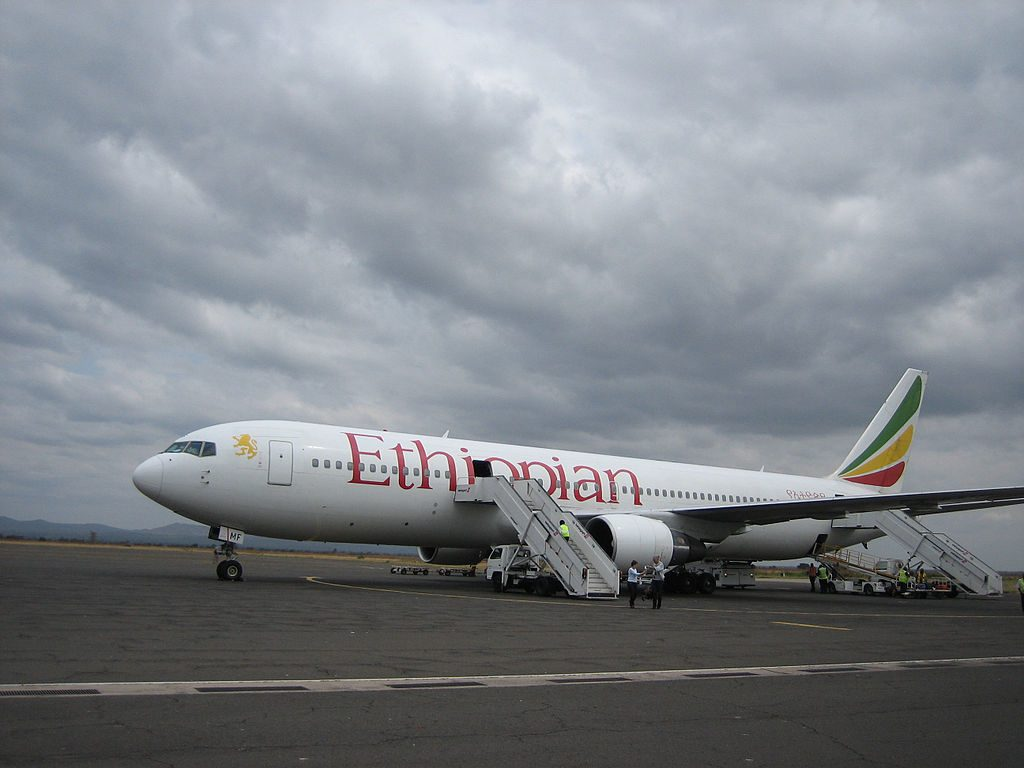 Ethiopian Airlines Boeing 767 3BGER ET AMF