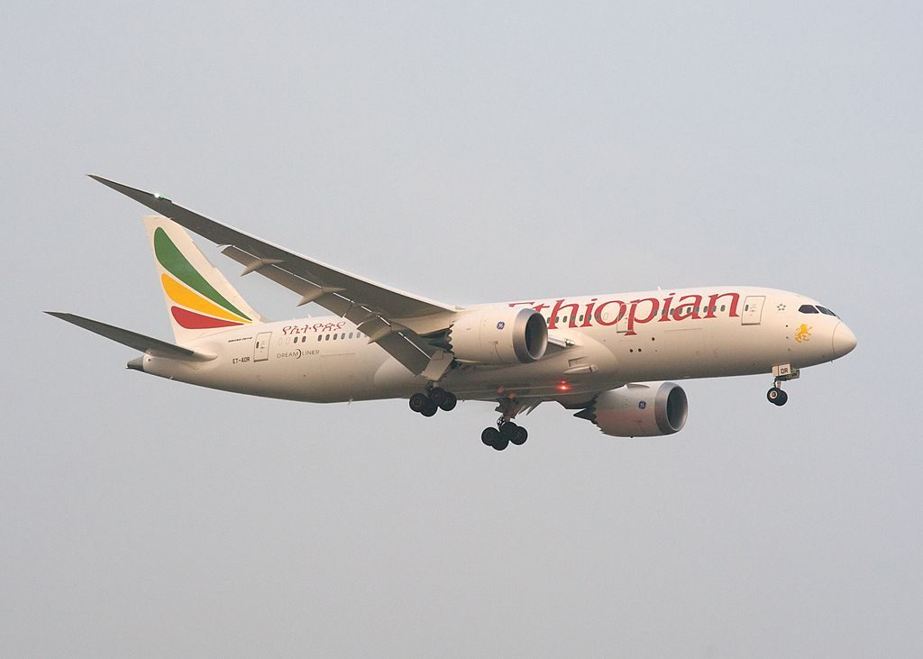 Ethiopian Airlines Boeing 787 8 Dreamliner ET AOR Addis Ababa at Toronto Pearson International Airport