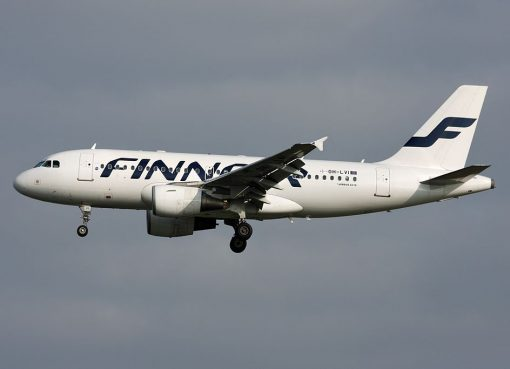 Finnair Airbus A319 112 OH LVI at Frankfurt Airport
