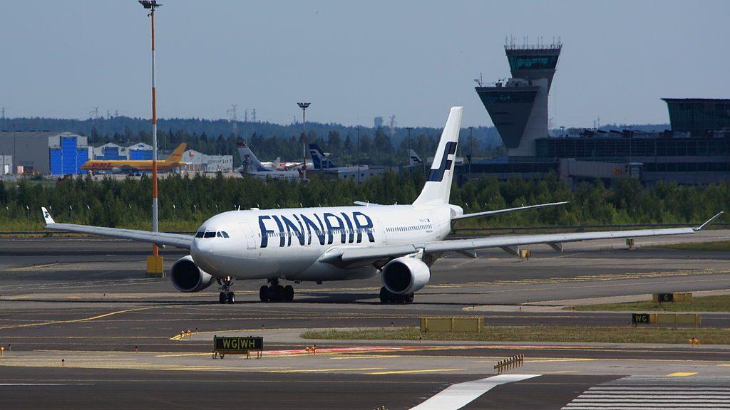 Finnair OH LTS Airbus A330 302E at Helsinki Vantaa Airport