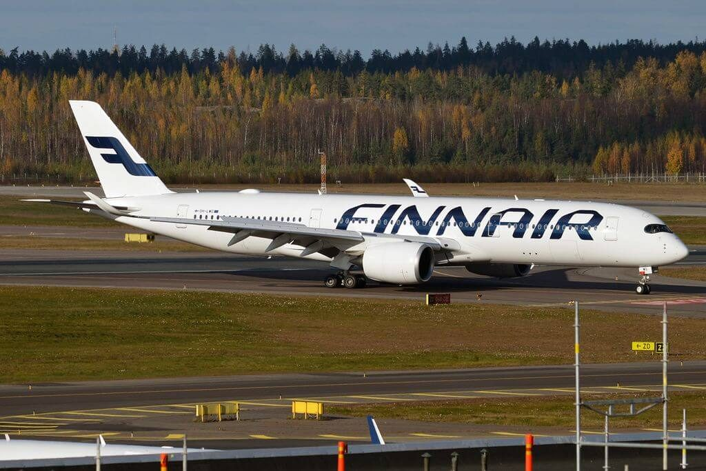 Finnair OH LWG Airbus A350 941 at Helsinki Vantaa Airport