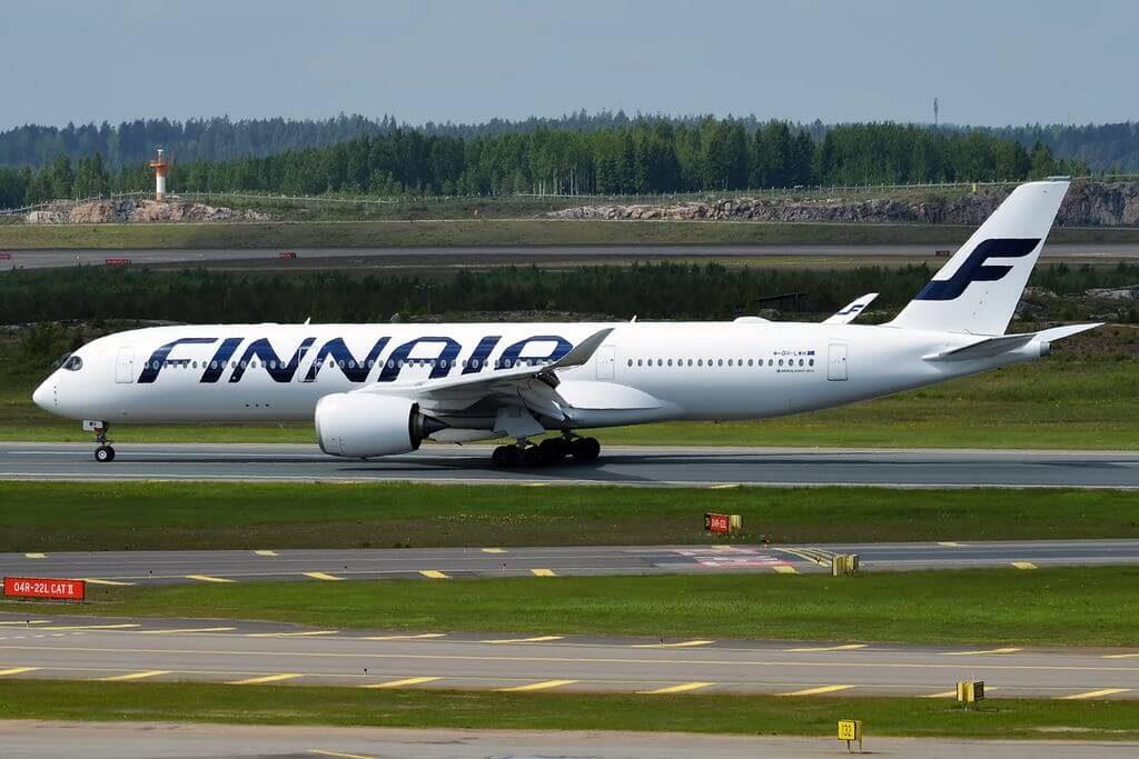 Finnair OH LWH Airbus A350 941XWB at Helsinki Vantaa Airport