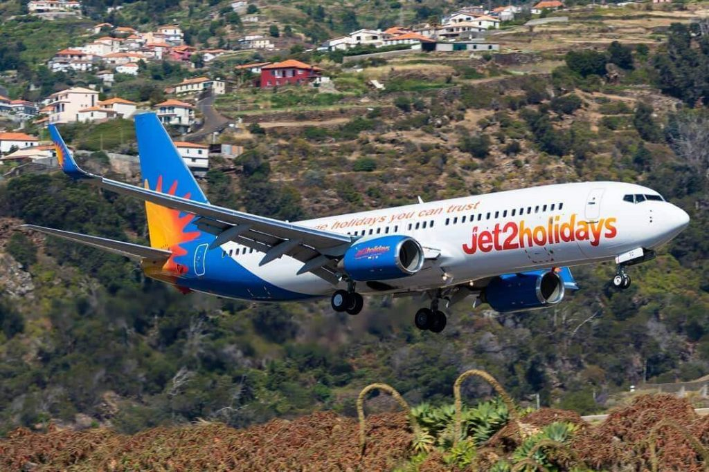 G DRTC Boeing 737 808WL Jet2holidays at Madeira Airport