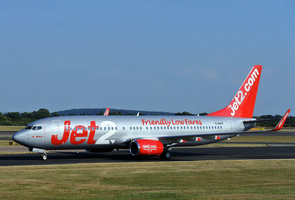 G DRTF Jet2 Madeira Boeing 737 85PWL