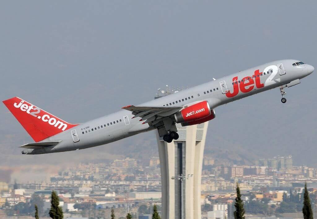 G LSAI Boeing 757 21B Jet2.com at Málaga Airport