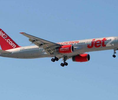 G LSAJ Boeing 757 236 Jet2 at Málaga Airport