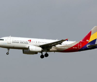 HL7737 Asiana Airlines Airbus A320 232 at Beijing Capital International Airport PEK