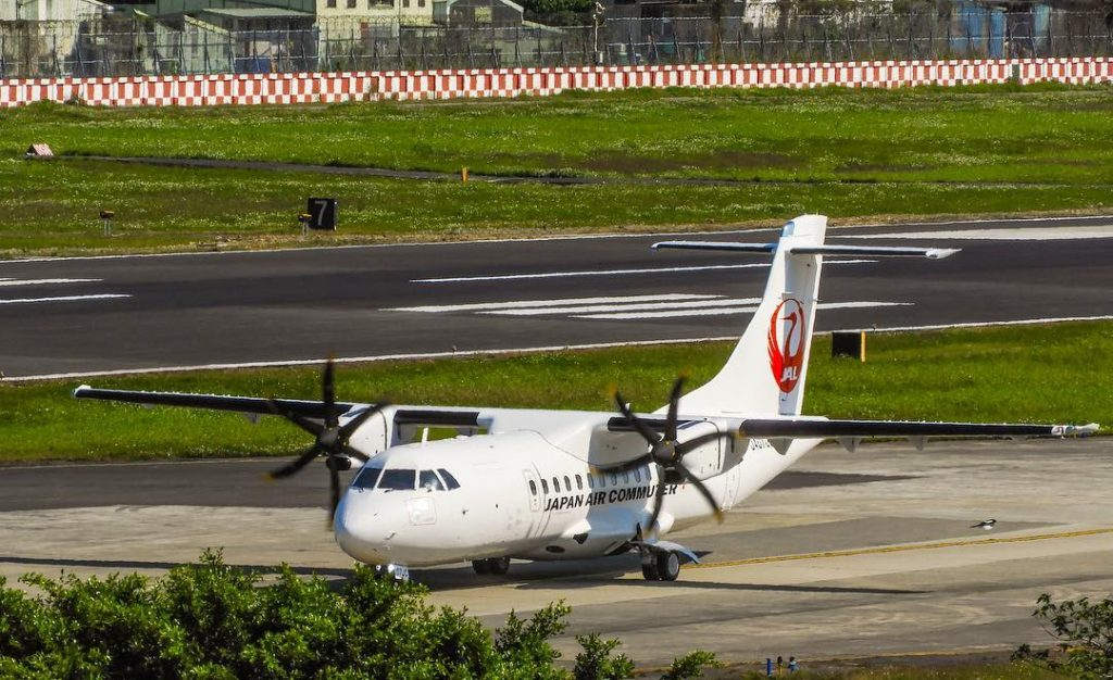 JA07JC ATR 42 600 Japan Air Commuter JAC