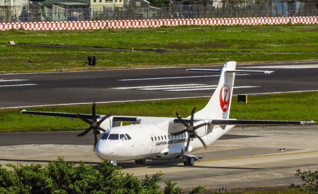 JA07JC ATR 42 600 Japan Air Commuter JAC