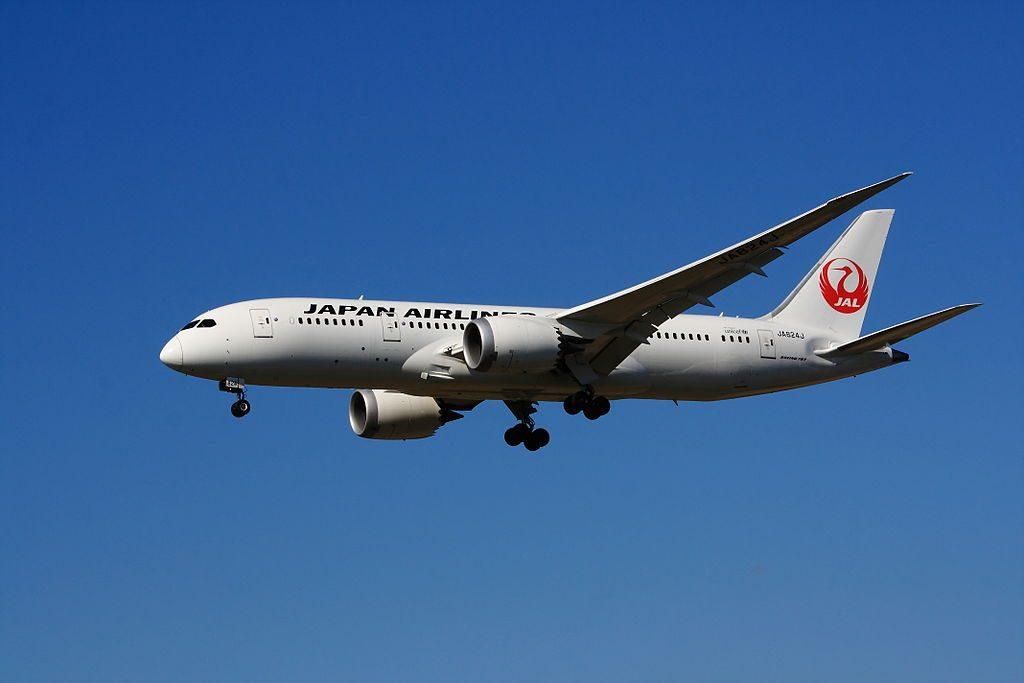 JA824J Japan Airlines JAL Boeing 787 8 Dreamliner at Helsinki Vantaa Airport