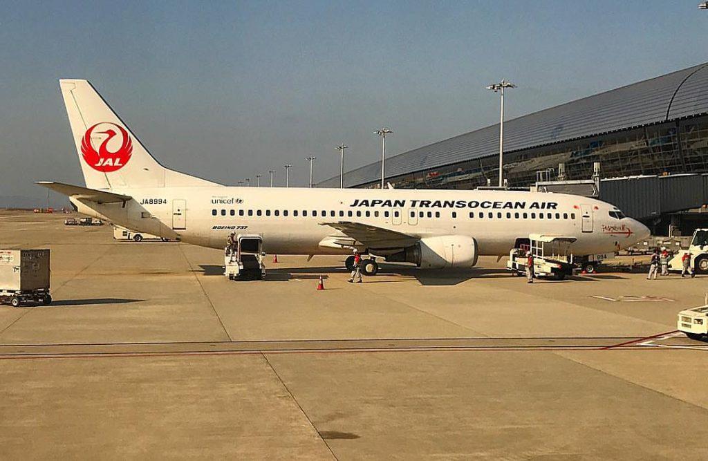 JA8994 Boeing 737 446 JAL Japan Transocean Air