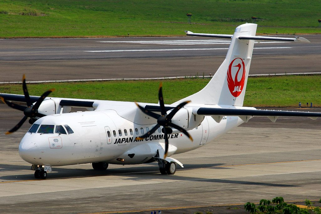 JAC Japan Air Commuter ATR 42 600 JA04JC