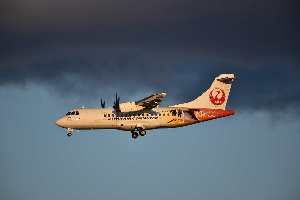JAC Japan Air Commuter JA05JC ATR 42 600 at Itami Airport