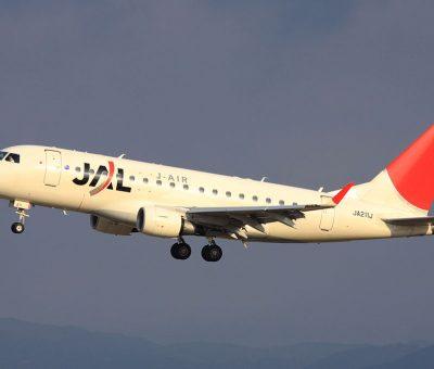 JAL J Air JA211J Embraer E170 at Nagoya Airport