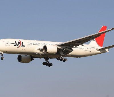 JAL Japan Airlines JA007D Boeing 777 289 at Fukuoka Airport