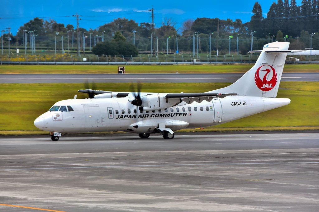 Japan Air Commuter ATR 42 600 JA03JC