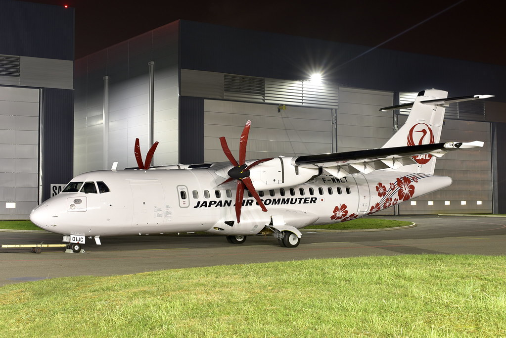 Japan Air Commuter Atr 42 600 JA01JC