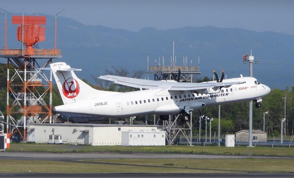Japan Air Commuter JA06JC ATR 72 600 72 212A