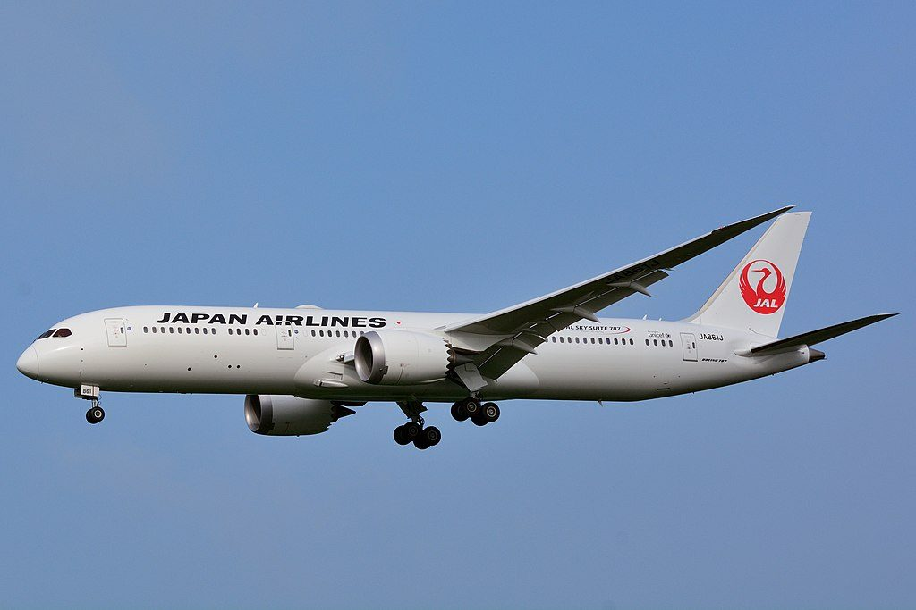 Japan Airlines JAL Boeing 787 9 Dreamliner JA861J at Narita International Airport