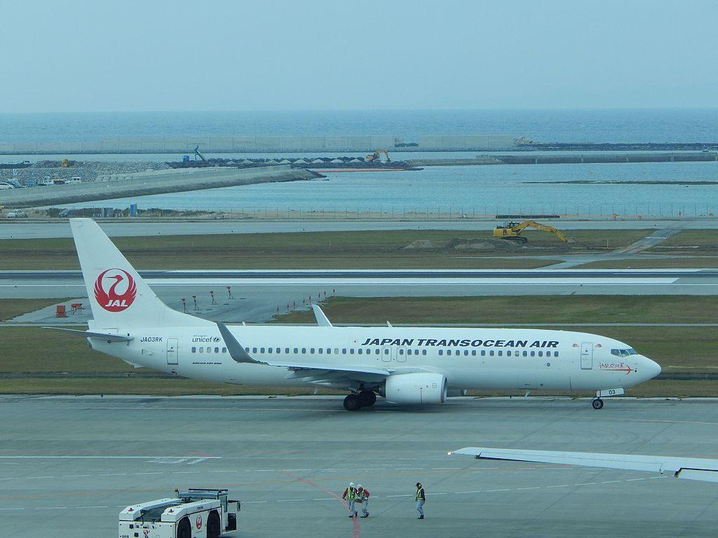 Japan Transocean Air JTA JA03RK Boeing 737 8Q3WL