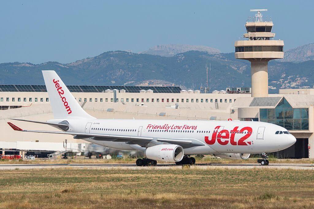 Jet2 Airbus A330 243 G VYGL at Palma de Mallorca Airport