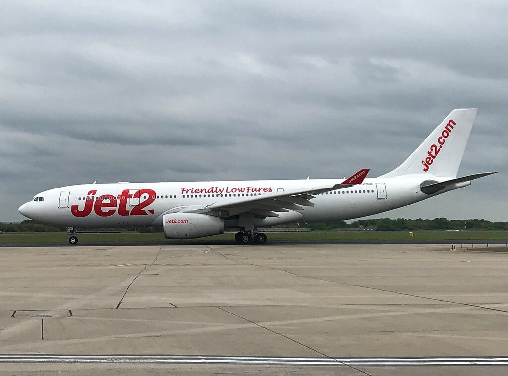 Jet2 Airbus A330 243 G VYGM at Manchester Airport