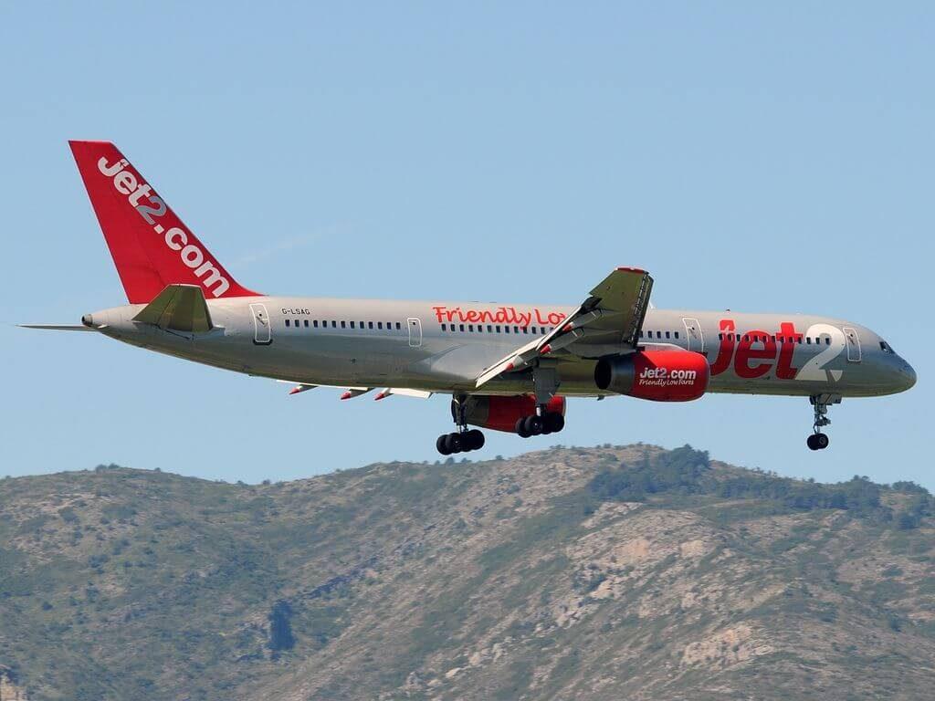 Jet2 G LSAG Boeing 757 21B at Málaga Airport