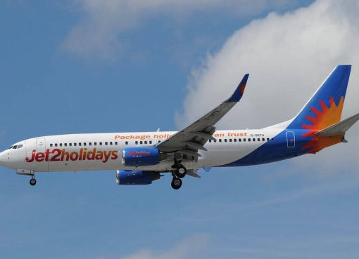 Jet2holidays G DRTA Boeing 737 85PWL at Manchester Airport
